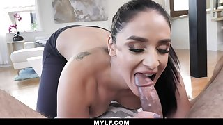 MylfBlows - Hot Body Stepmom Swallows Her Stepson