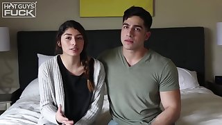 Diego Cruz and Vanessa Ortiz are about to fuck in front of the camera, just for fun