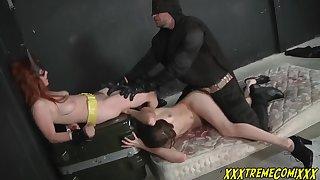 Penny Pax Batman & Batgirl Threesome Sex