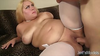BBWs enjoy their plump pussies getting fucked deep and good with hard dicks
