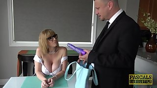 Mature is in for a spicy treat with daughter's husband