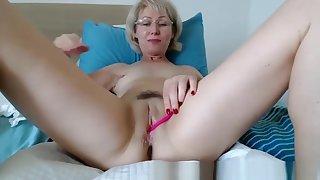 Grandma Playing