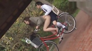 Step Mother and Step Son Having Sex in the Road