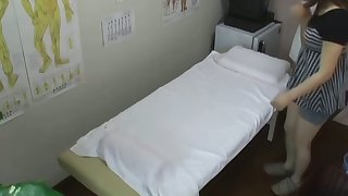 The strong massage orgasm of amateur voyeured on cam