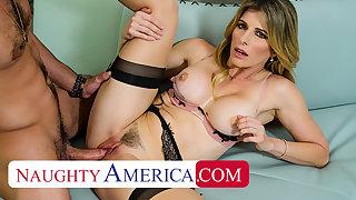 Naughty America - Blonde MILF Cory Chase wants cock