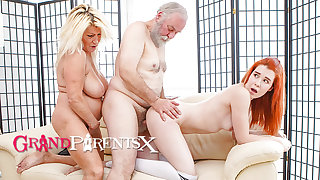 Redhead Finds Out How Cock Feels