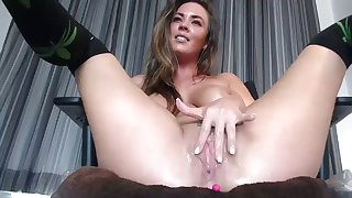 Slutty Wife With Big Tits Squirts Cum