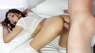 Cock Hungry Jade Jantzen Sucking A Big And Juicy Meat